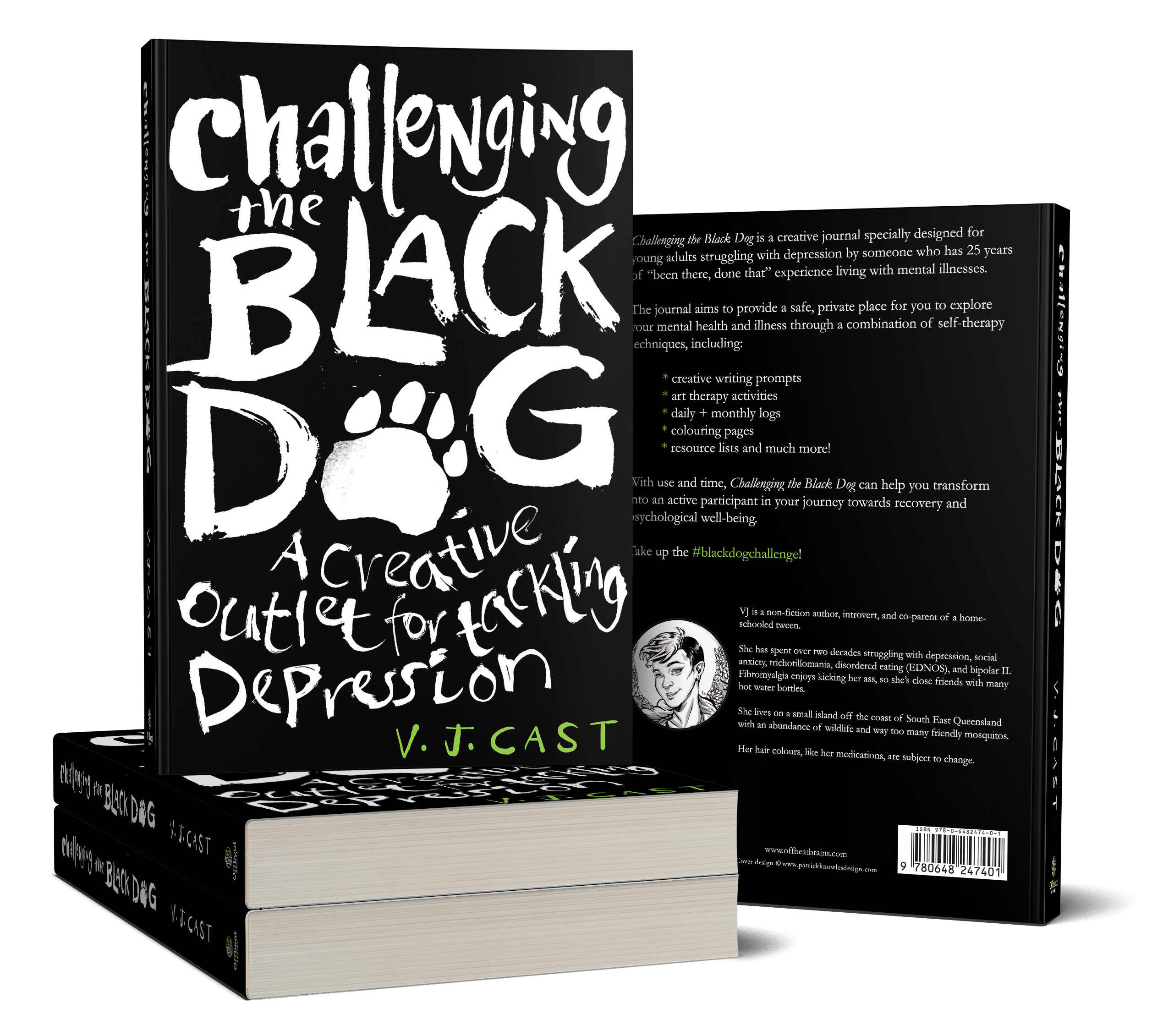Challenging the Black Dog: A Creative Outlet for Tackling