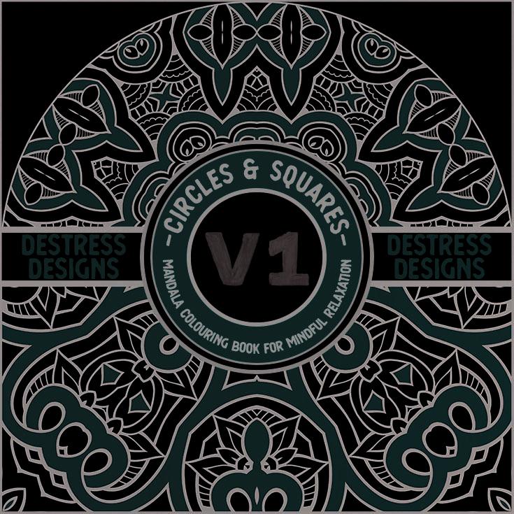 Destress Designs – Circles Vol. 1 & Squares Vol. 1