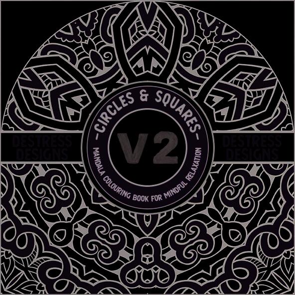 Destress Designs – Circles Vol. 2 & Squares Vol. 2
